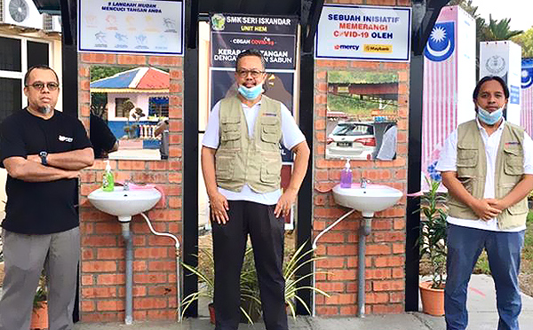 UiTM Partners with MERCY to Provide Handwashing Kiosks